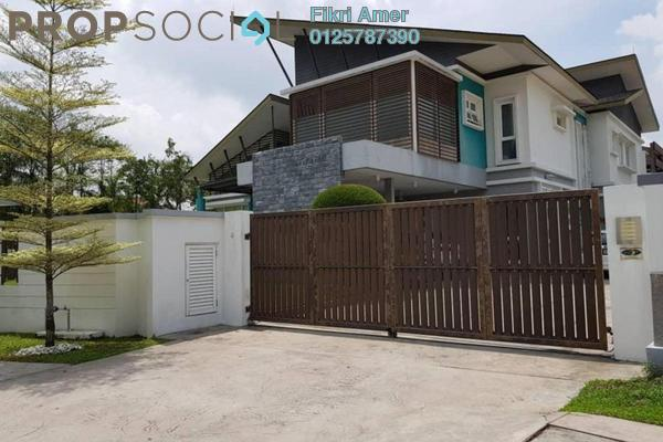 For Sale Bungalow at Forte, Bukit Jelutong Freehold Semi Furnished 7R/7B 5.25m