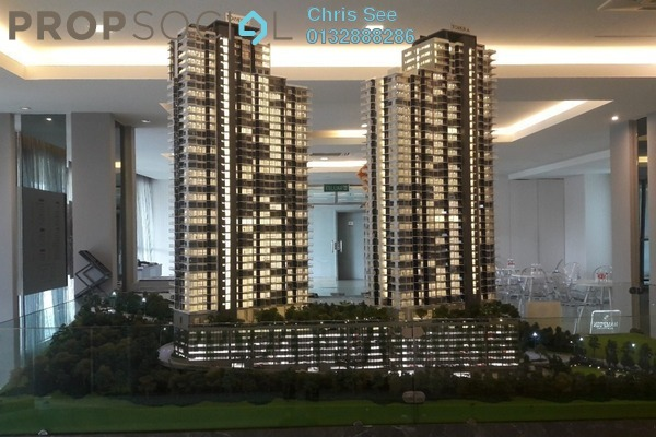 For Sale Serviced Residence at Hampton Damansara, Kuala Lumpur Freehold Semi Furnished 2R/2B 680k