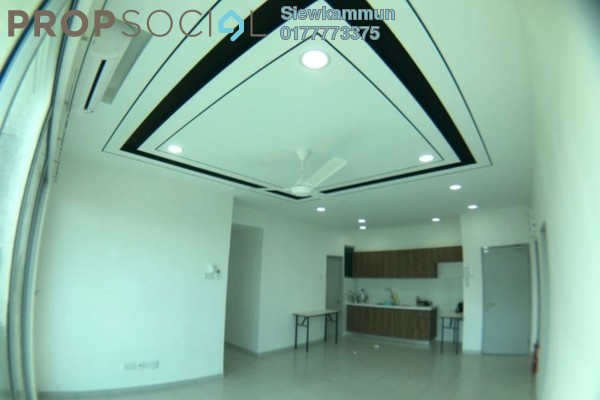 For Rent Serviced Residence at The Zizz, Damansara Damai Freehold Semi Furnished 4R/2B 1.4k