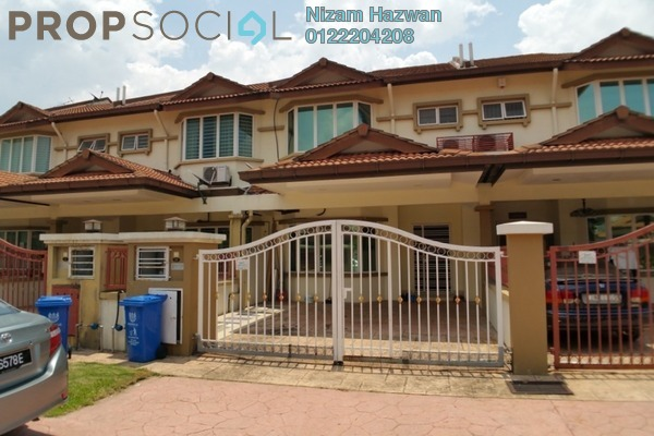 For Sale Terrace at Subang Galaxy, Subang Freehold Semi Furnished 4R/3B 695k