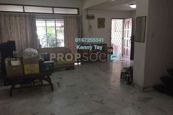 For Sale Terrace at Taman Bukit Maluri, Kepong Freehold Semi Furnished 4R/3B 720k