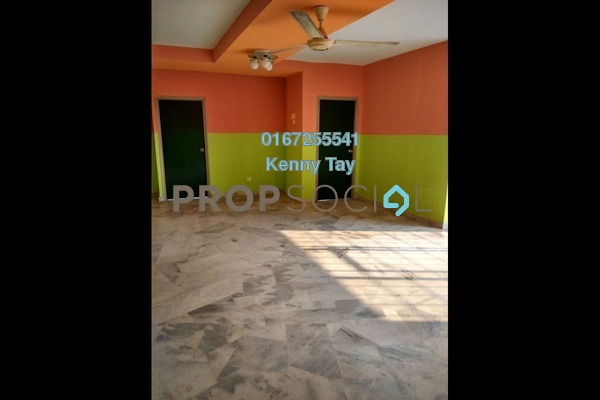 For Sale Condominium at Pelangi Indah, Jalan Ipoh Freehold Semi Furnished 3R/2B 300k