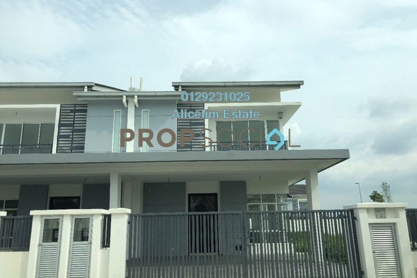 For Rent Terrace at M Residence 2, Rawang Freehold Unfurnished 4R/3B 1.4k