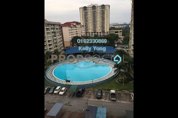 For Rent Condominium at Petaling Indah, Sungai Besi Freehold Semi Furnished 2R/2B 1k