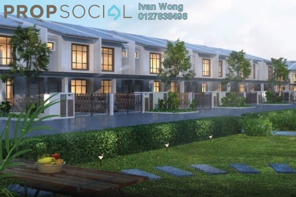 For Sale Terrace at Brogania Terrace Homes, Semenyih Freehold Unfurnished 4R/3B 515k
