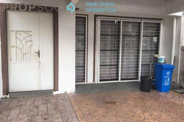 For Sale Terrace at Greenlane, Bukit Jelutong Freehold Semi Furnished 4R/4B 890k