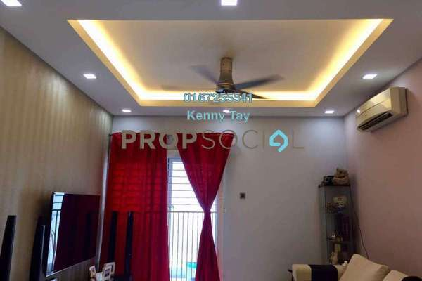 For Sale Condominium at Plaza Menjalara, Bandar Menjalara Freehold Semi Furnished 3R/2B 495k