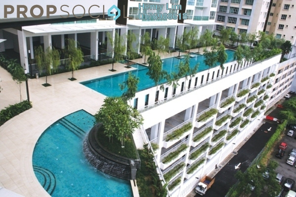 For Rent Condominium at Suasana Sentral Loft, KL Sentral Freehold Fully Furnished 2R/1B 3.5k
