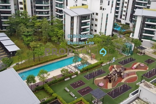 For Sale Condominium at Serin Residency, Cyberjaya Freehold Semi Furnished 3R/2B 400k