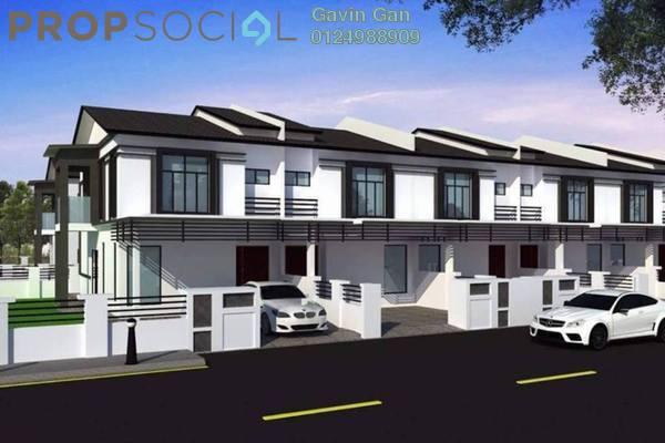 For Sale Terrace at Taman Perepat Indah, Kapar Freehold Unfurnished 4R/3B 359k