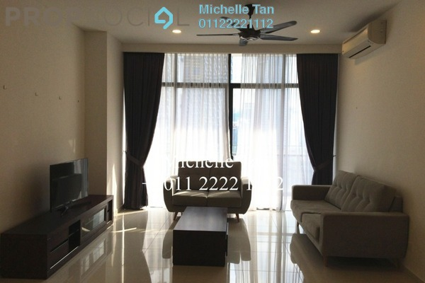 For Rent Condominium at Mirage Residence, KLCC Freehold Fully Furnished 3R/4B 4.5k