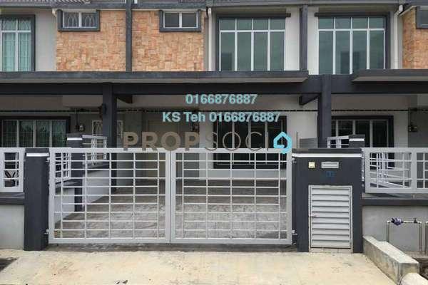 For Sale Terrace at Rafflesia @ Pelangi Semenyih 2, Semenyih Freehold Unfurnished 4R/3B 490k