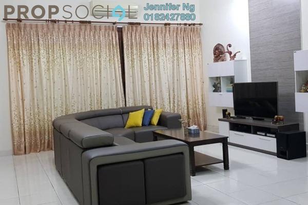 For Sale Terrace at Kemuning Bayu , Kemuning Utama Freehold Semi Furnished 4R/3B 950k