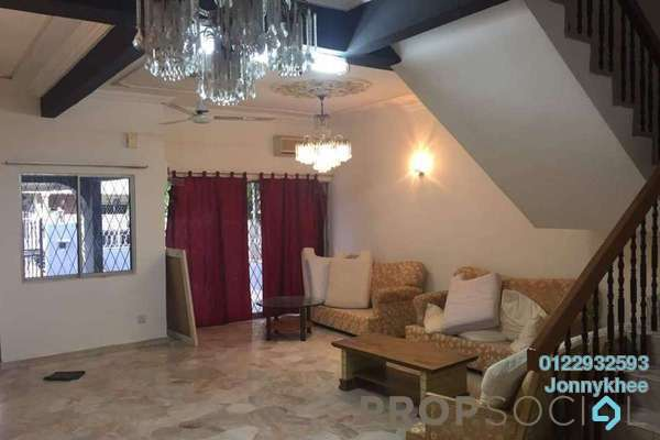 For Sale Terrace at Taman Rainbow, Jalan Ipoh Freehold Semi Furnished 4R/3B 1.3m
