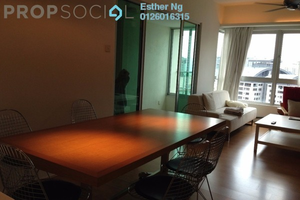 For Sale Serviced Residence at i-Zen Kiara I, Mont Kiara Freehold Fully Furnished 2R/2B 770k