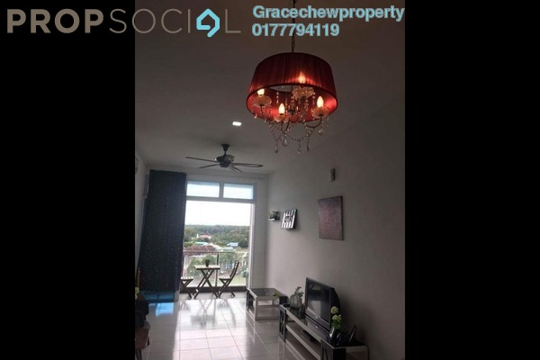 For Rent Serviced Residence at The Senai Garden, Senai Freehold Fully Furnished 1R/1B 1.5k