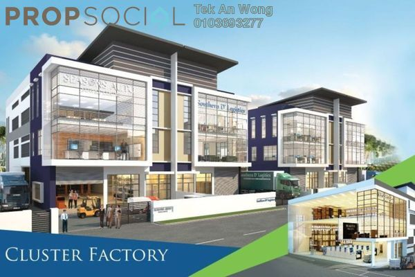 For Sale Factory at Nouvelle Industrial Park, Kota Puteri Leasehold Unfurnished 0R/0B 2.3m