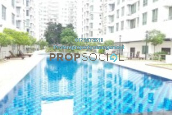 For Rent Condominium at Casa Tiara, Subang Jaya Freehold Fully Furnished 3R/2B 1.8k