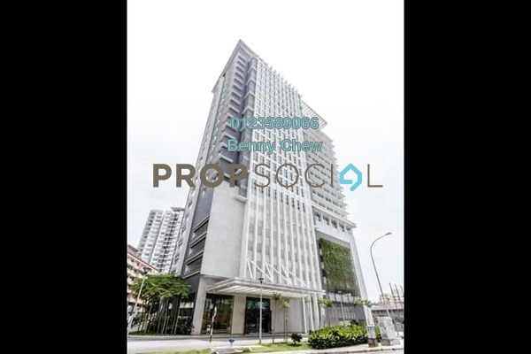 For Rent Office at Section 13, Shah Alam Freehold Semi Furnished 0R/0B 17.5k