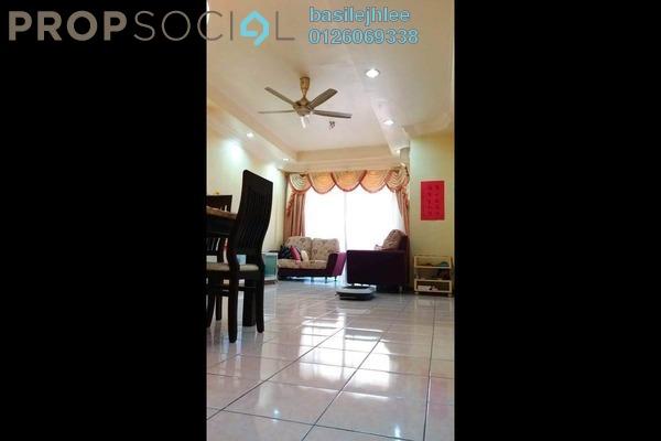 For Sale Apartment at Jati 1 Apartment, Subang Jaya Freehold Semi Furnished 3R/2B 430k