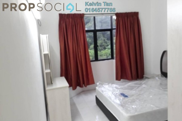 For Rent Apartment at Krystal Villa, Sungai Nibong Freehold Semi Furnished 3R/2B 1.2k