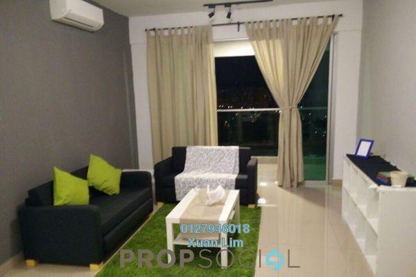 For Rent Condominium at Kiara Residence 2, Bukit Jalil Freehold Fully Furnished 3R/3B 2.5k