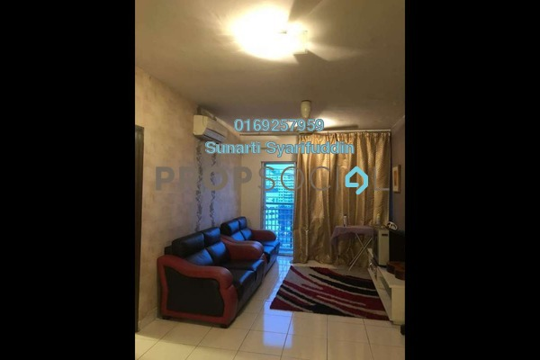 For Sale Condominium at Alam Idaman, Shah Alam Freehold Semi Furnished 2R/2B 325k