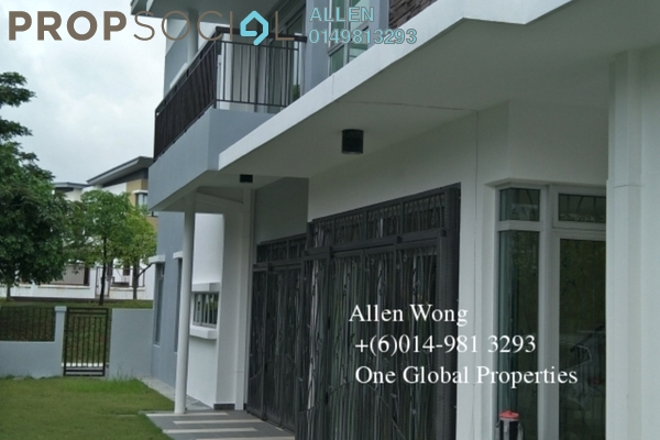 For Rent Terrace at Taman Bukit Indah, Bukit Indah Freehold Semi Furnished 4R/5B 3k