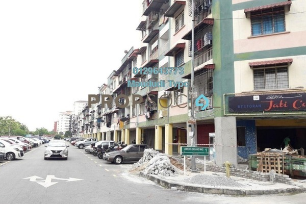 For Sale Apartment at Taman Mas Sepang, Puchong Freehold Semi Furnished 3R/1B 169k