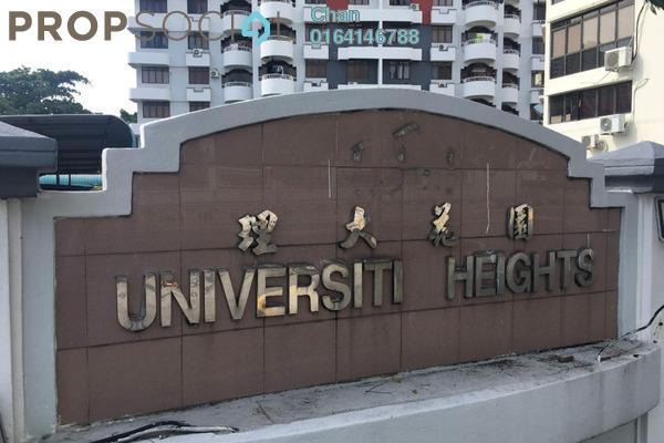 For Sale Condominium at University Heights, Sungai Dua Freehold Semi Furnished 3R/2B 440k