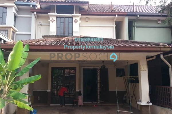 For Rent Terrace at Taman Cheras Indah, Cheras Freehold Semi Furnished 4R/4B 1.7k