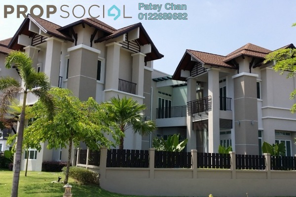 For Sale Bungalow at Setia Eco Park, Setia Alam Freehold Semi Furnished 9R/8B 7.2m