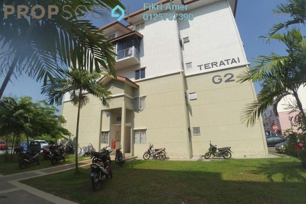 For Sale Apartment at Taman Sutera, Kajang Freehold Unfurnished 3R/2B 220k
