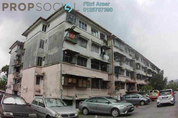 For Sale Apartment at Pandan Indah, Pandan Indah Leasehold Unfurnished 3R/1B 170k