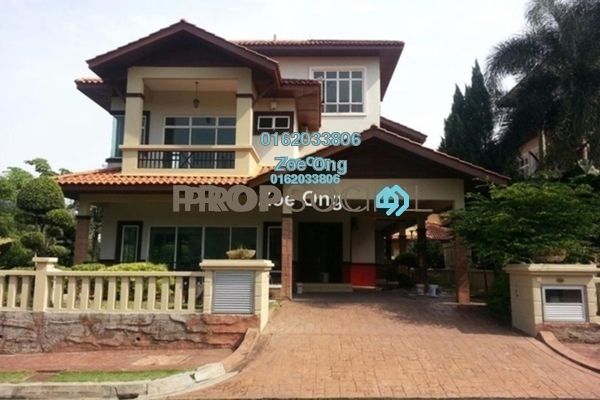For Sale Bungalow at D'Villa Botany, Kota Damansara Leasehold Semi Furnished 5R/5B 2.8m