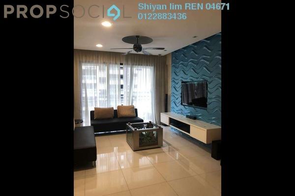 For Rent Condominium at Casa Kiara I, Mont Kiara Freehold Fully Furnished 4R/3B 2.8k