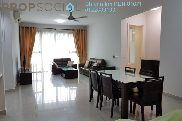 For Rent Condominium at Kiaramas Ayuria, Mont Kiara Freehold Fully Furnished 4R/4B 4.5k