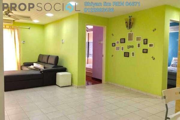 For Rent Condominium at Paradesa Tropika, Bandar Sri Damansara Freehold Fully Furnished 3R/2B 1.6k