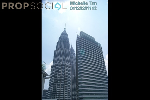 For Sale Serviced Residence at One KL, KLCC Freehold Semi Furnished 2R/4B 15m