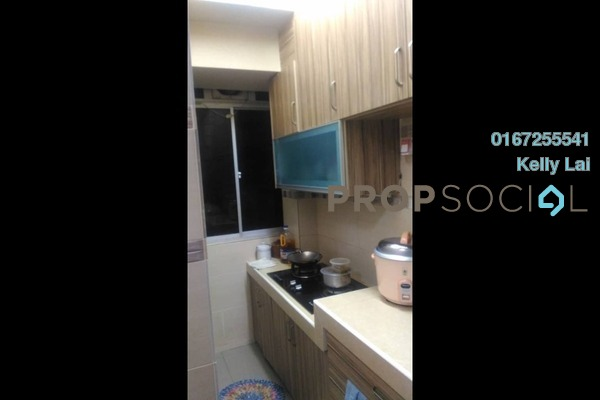 For Sale Apartment at Taman Pusat Kepong, Kepong Freehold Semi Furnished 3R/2B 230k