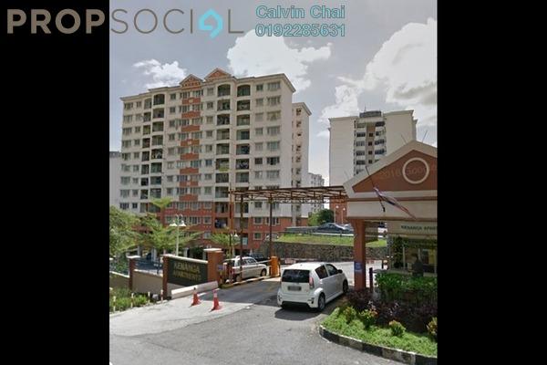 For Sale Apartment at Kenanga Apartment, Pusat Bandar Puchong Freehold Fully Furnished 3R/2B 400k