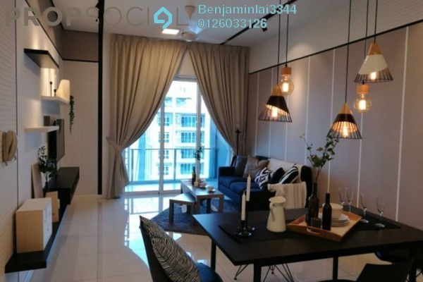 For Rent Serviced Residence at Aurora Tower, KLCC Freehold Fully Furnished 3R/2B 2.5k