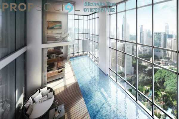 For Sale Duplex at Four Seasons Place, KLCC Freehold Semi Furnished 5R/6B 25.5m