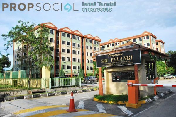 For Sale Apartment at Sri Pelangi Apartment, Subang Freehold Semi Furnished 3R/2B 350k