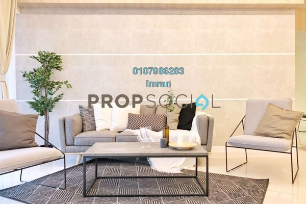 For Rent Condominium at Residensi 22, Mont Kiara Freehold Fully Furnished 3R/4B 8.5k