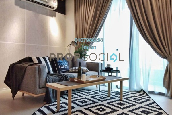 For Rent Serviced Residence at Arcoris, Mont Kiara Freehold Fully Furnished 2R/2B 4.2k