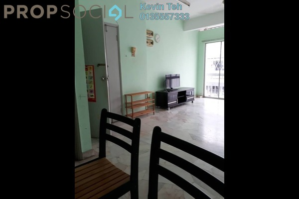 For Rent Apartment at Lily & Rose Apartment, Petaling Jaya Freehold Semi Furnished 3R/2B 1.3k