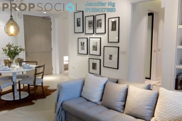 For Sale Condominium at Cantara Residences, Ara Damansara Freehold Semi Furnished 2R/1B 529k