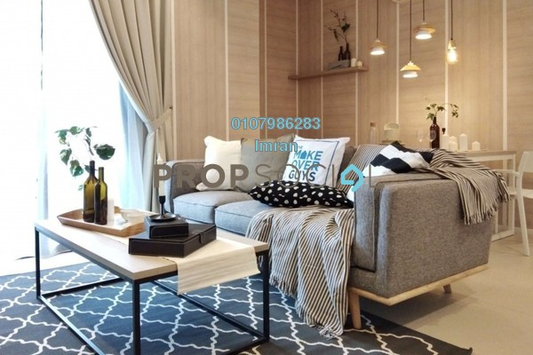 For Rent Serviced Residence at Arcoris, Mont Kiara Freehold Fully Furnished 2R/2B 4.5k