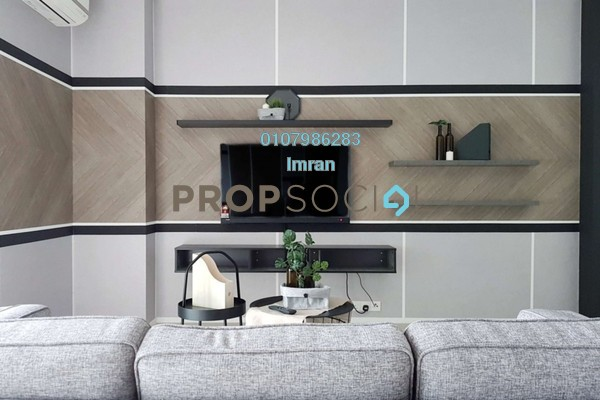 For Rent Serviced Residence at Arcoris, Mont Kiara Freehold Fully Furnished 1R/1B 3k
